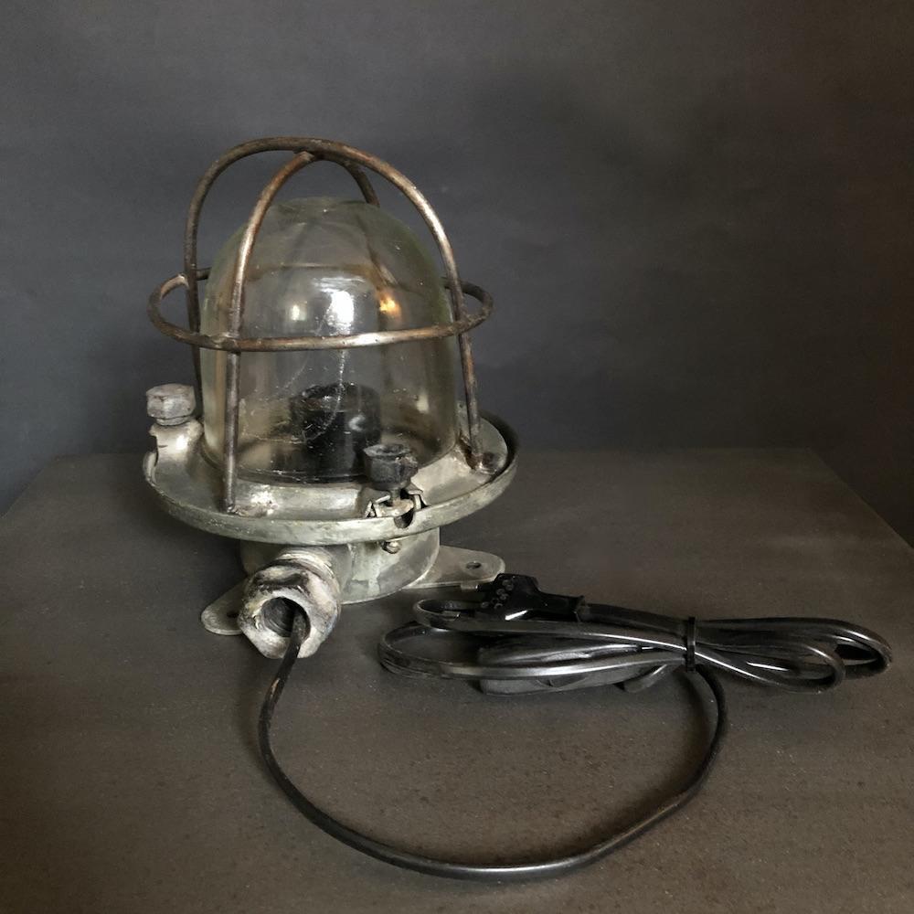 lampada da nave vintage applique