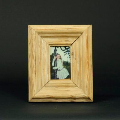 portafoto legno natura