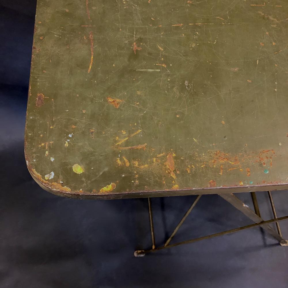tavolo militare vintage