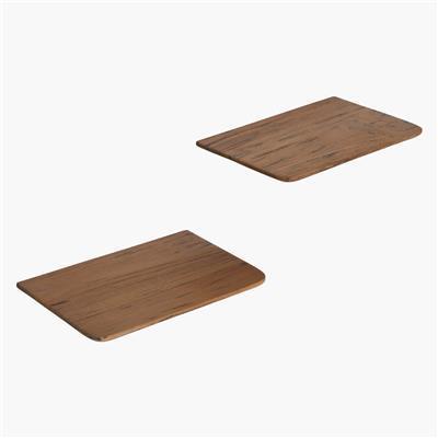 piccola mensola legno 25 cm