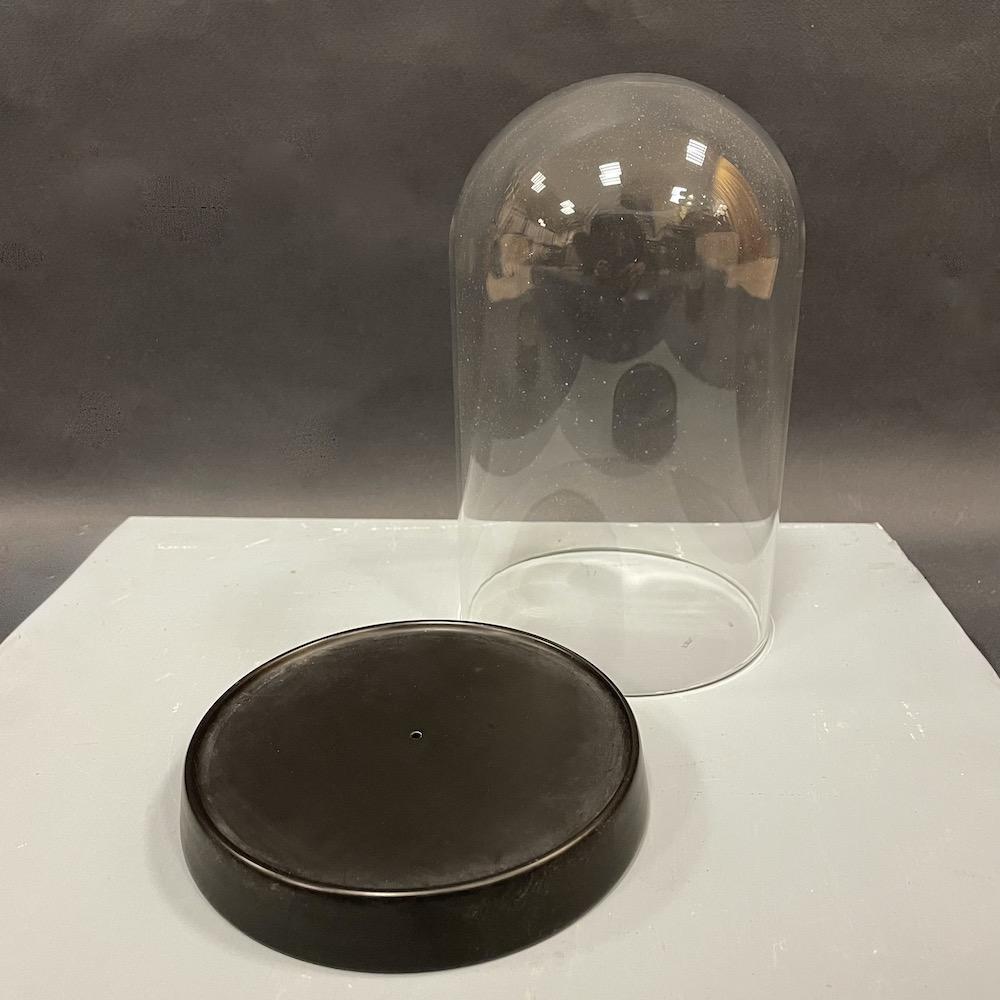 cloche vetro e ferro