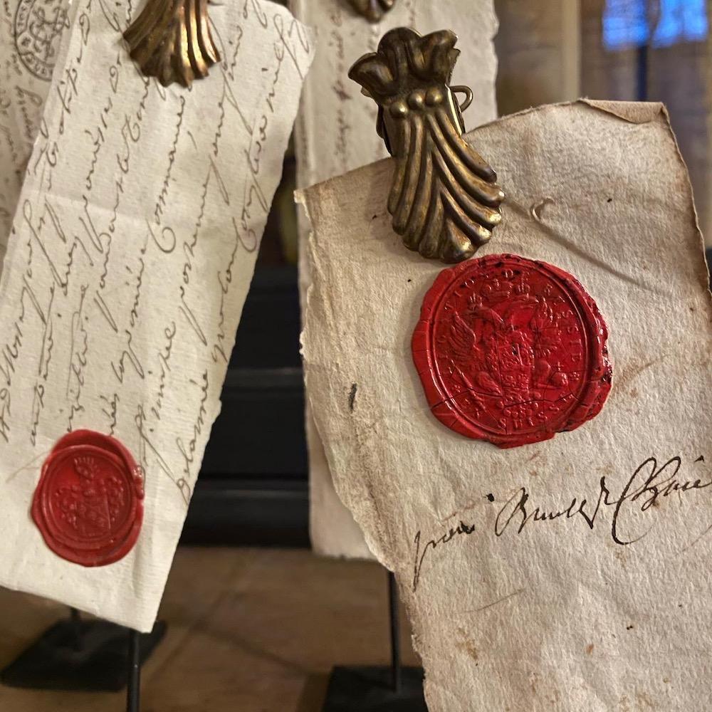 frammenti manoscritti