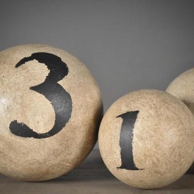 palle legno numerate