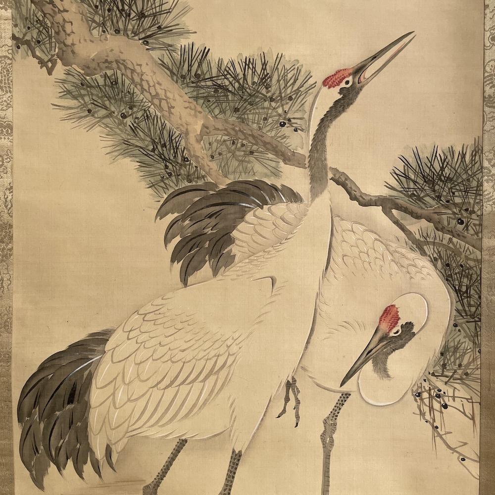 gru giapponese Tsuro