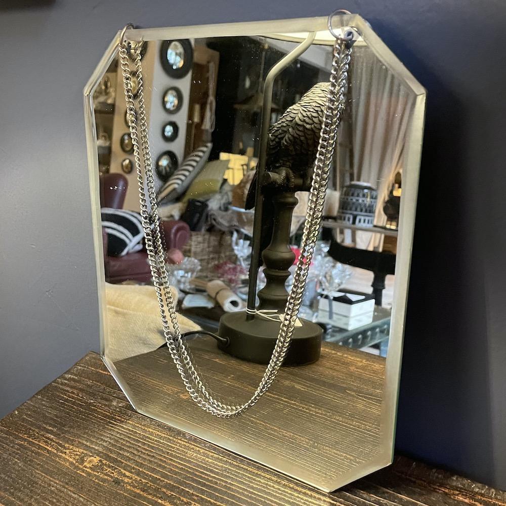specchio nudo molato catenella