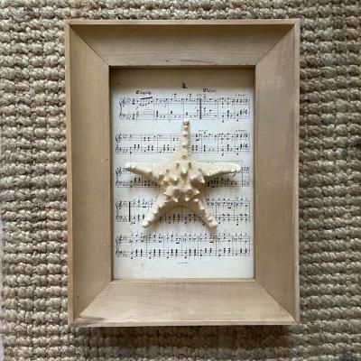 stella marina quadro spartito