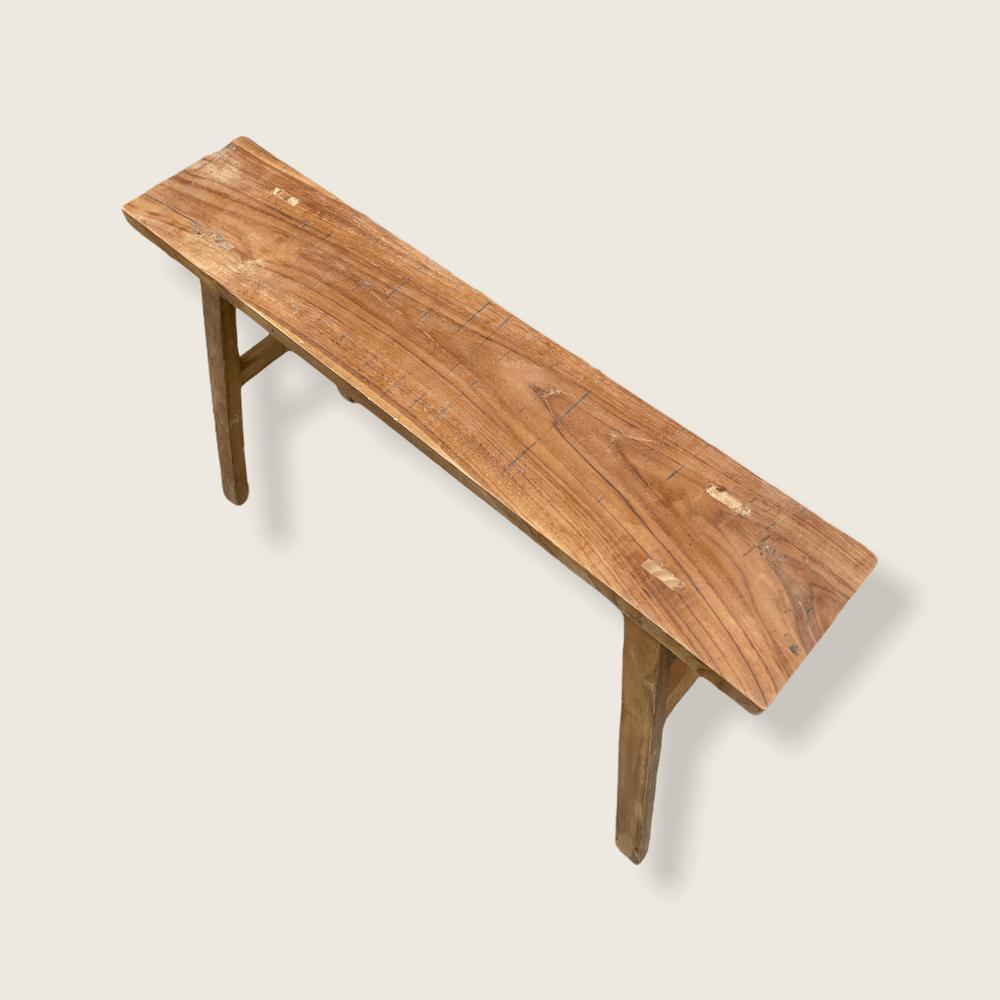 sgabello legno riciclato