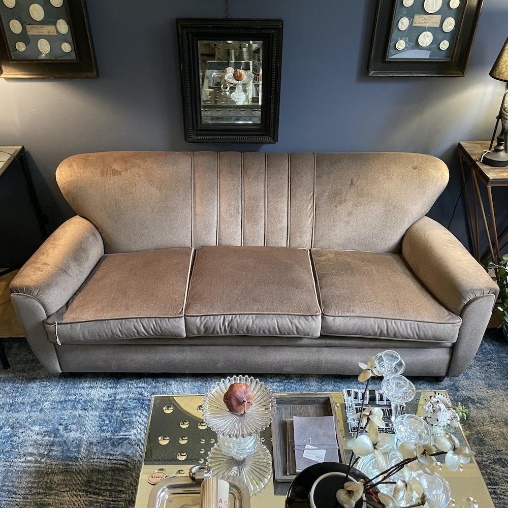 divano tre posti vintage