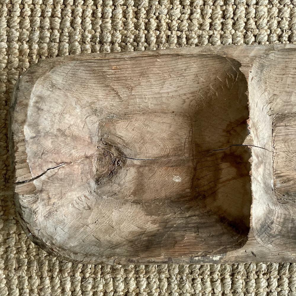 mangiatoia vintage legno