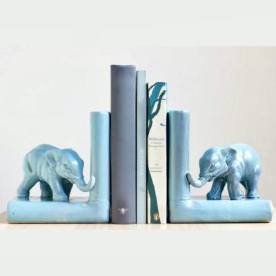 fermalibri Decò elefanti turchesi