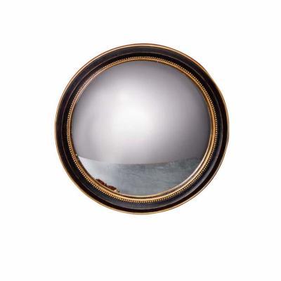 specchio convesso D26 nero oro