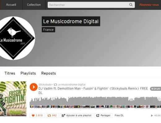 Le Musicodrome Digital Soundcloud