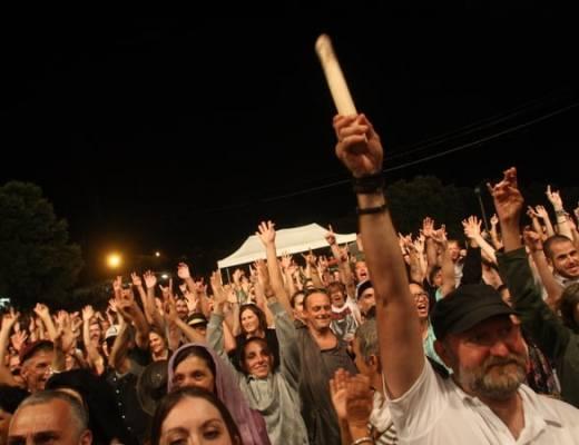 Les Tambours du Bronx Festival Rocktambules Rousson Photolive30