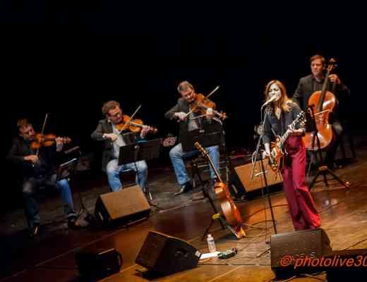 Keren Ann & Quatuor Debussy Cratère Alès 5 octobre 2018 Photolive30