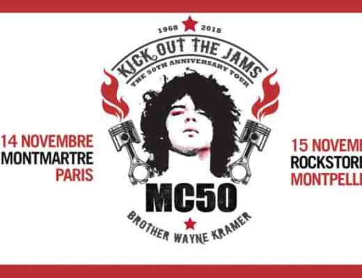 MC50 concert montpellier kick out the jams