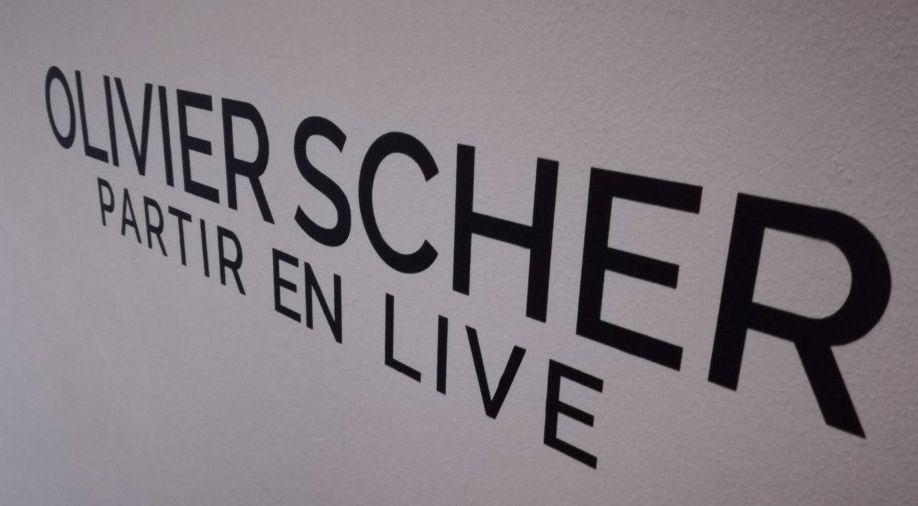 Exposition olivier scher partir en live montpellier