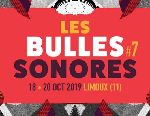 invitations festival les bulles sonores 2019