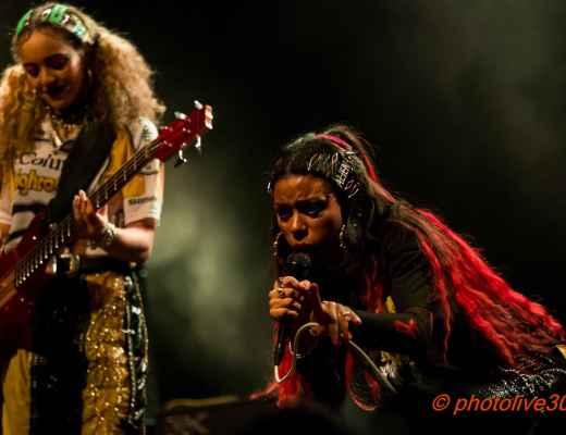 photos nova twins concert nimes 2020