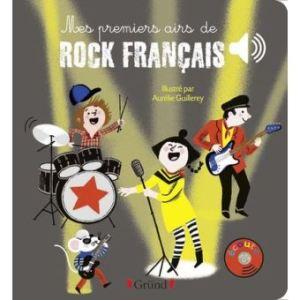 livre mes premiers airs de rock français enfants