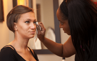Behind the Brush with Chicago Makeup Artist. Lena Clark
