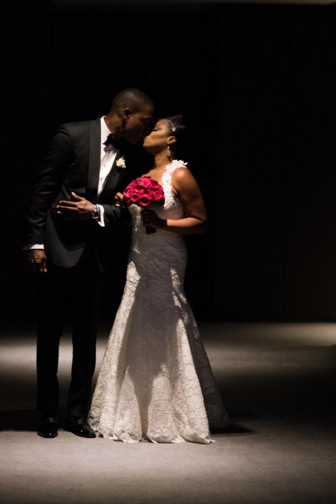 Chicago Black Bride and Black Groom