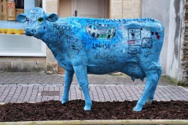 Blue cow, Bristol