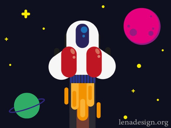 JavaScript onmousedown event/ Astronaut