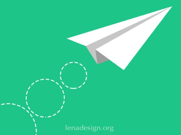 CSS Paper Plane Animation