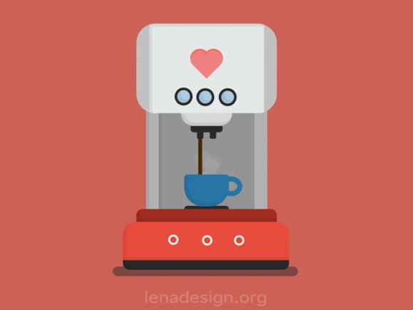 CSS Coffee Express Animation