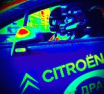 Me in motor race