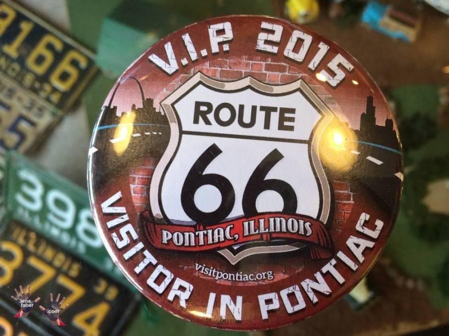 VIP visitor in Pontiac