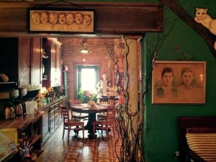 Gallery plus coffee shop in Elkhart