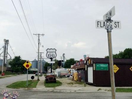 Cross roads in Elkhart