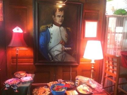 Nice food and Napoleon