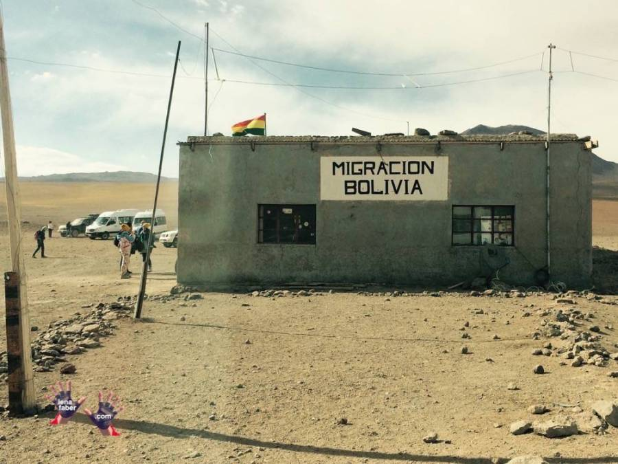 Migration Bolivia Office in the Desert