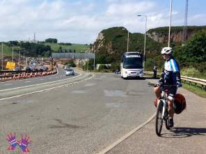 Out of Edinburg by National Cycling Route 1