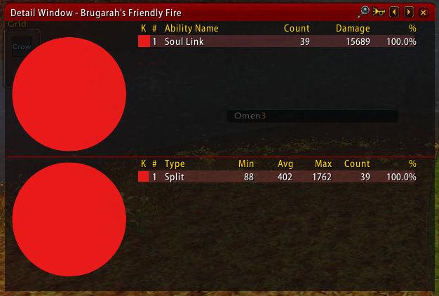 Best use of Recount - friendly fire detail window