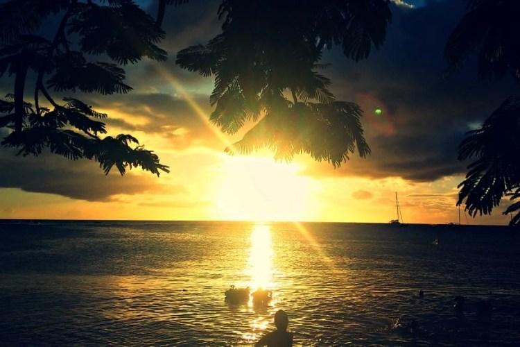 Anse Mitan Sunset