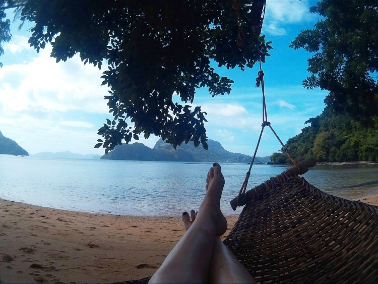 Relaxing in Palawan
