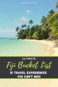 Fiji Bucket List