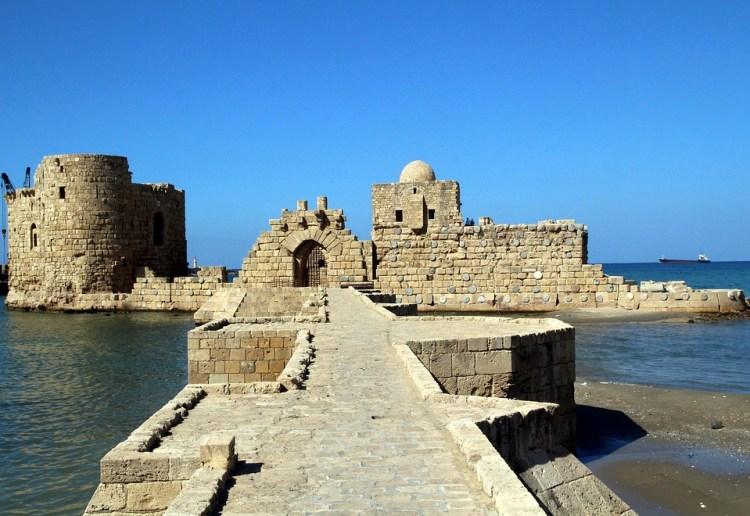 Saida Sea Castle