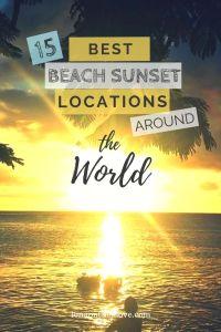 Best Beach Sunset Locations Around The World