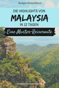 Malaysia - Itinerary