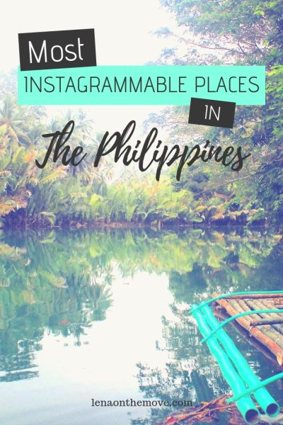 nstagrammable Places Philippines