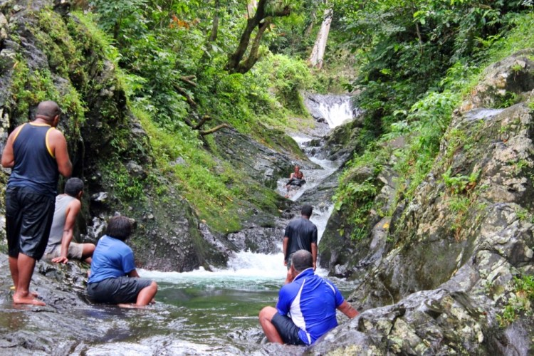 Taveuni Natural Waterslide