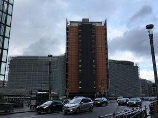 The EC Headquarters, the Berlaymont Building