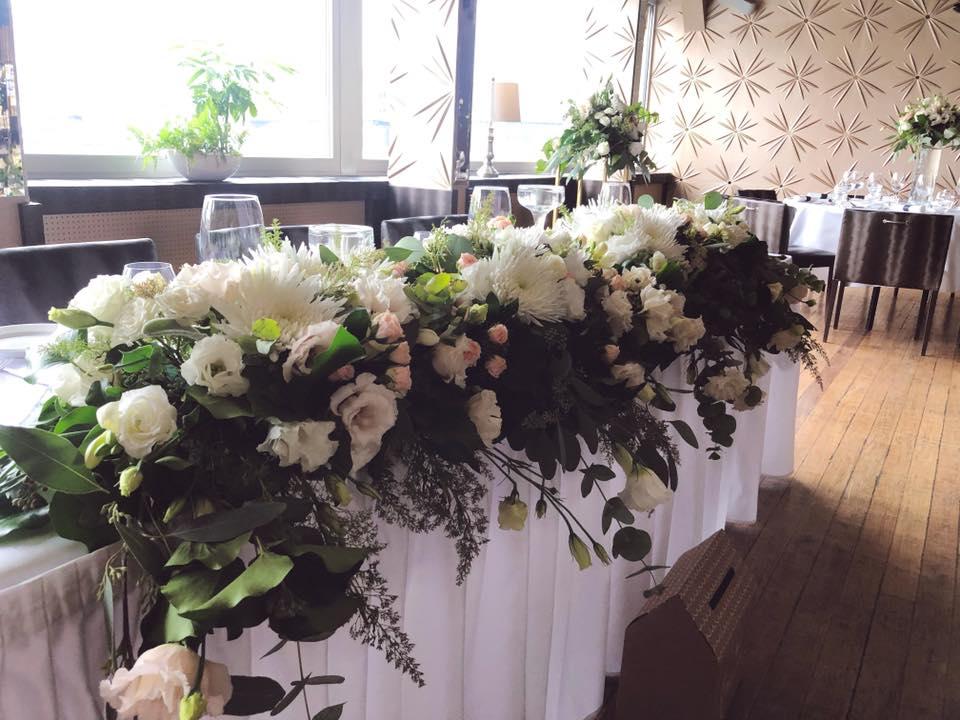 Asztaldísz esküvői