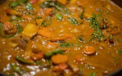One-Pot Veggie Curry