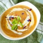 Cremige Karotten Ingwer Suppe