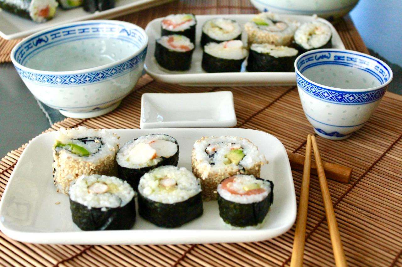 Sushi viel